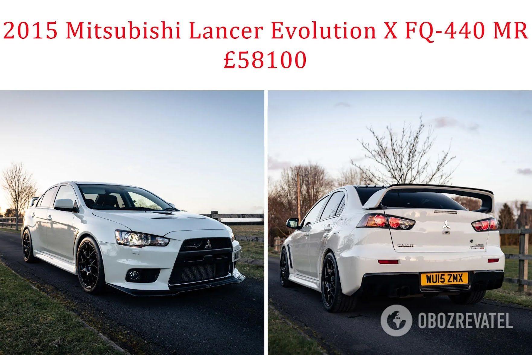 2015 Mitsubishi Lancer Evolution X FQ-440 MR