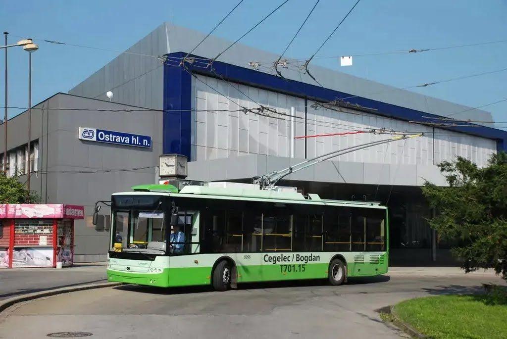 """Троллейбусы """"Богдан"""" отправятся в Чехию."""