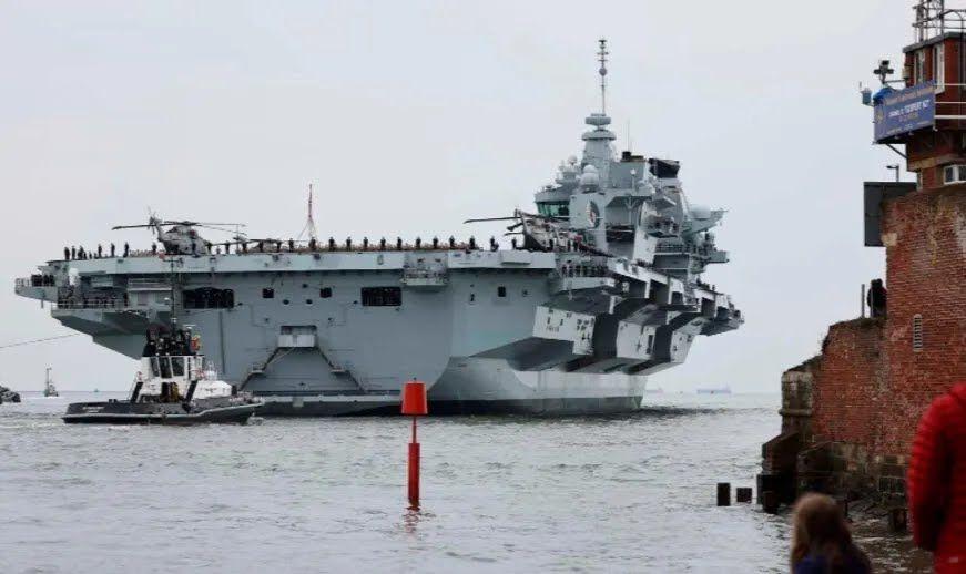 Поява британської авіаносної ударної групи є істотним новим вливанням бойової потужності в захист євроатлантичного регіону.