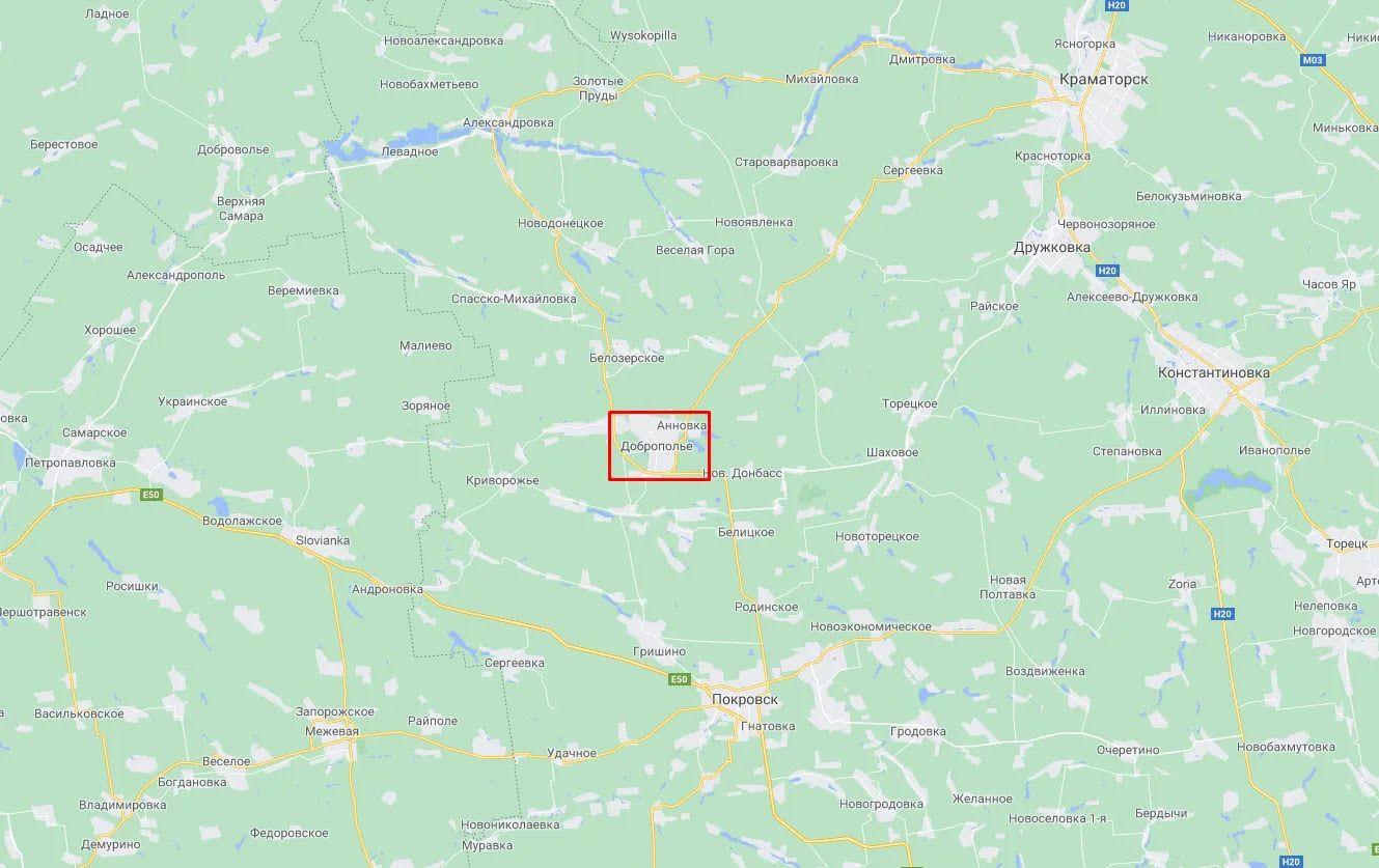 Инцидент произошел в Доброполье.