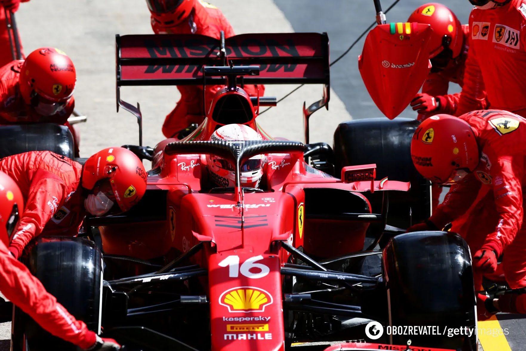 Ferrari не смогли показать высокий результат