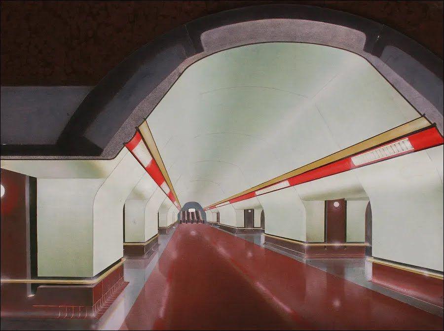 Ось так пропонувалося оформити станцію.