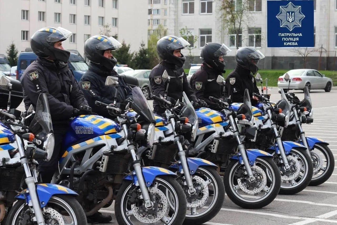 В Киеве снова будут ездить патрульные на мотоциклах.