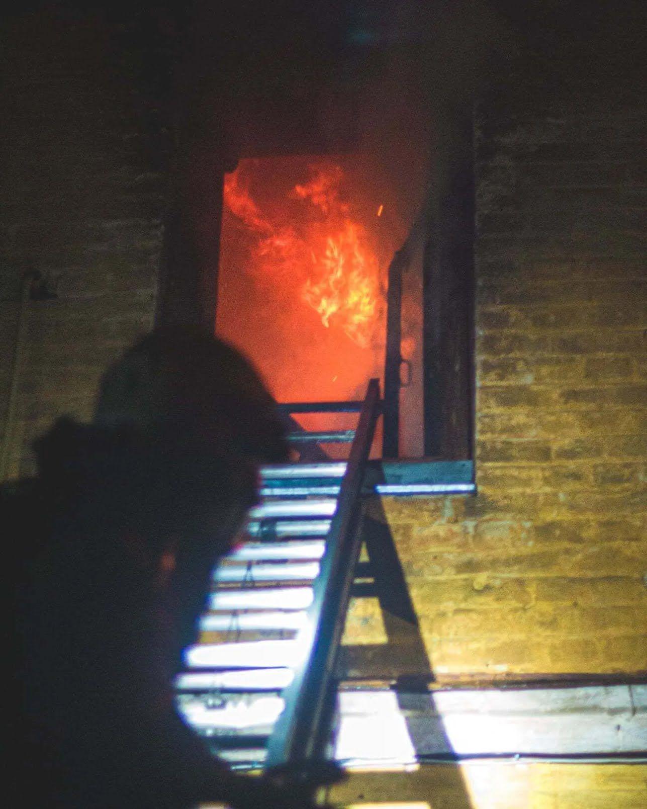 Вогонь охопив площу в 150 кв. м