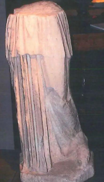 Фрагмент древнеримской статуи Афины скульптора Мирона