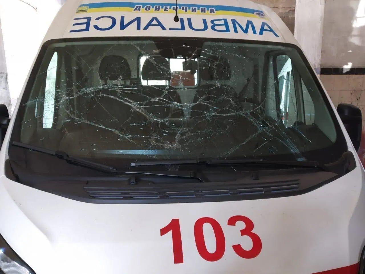 """У COVID-лікарні, яку обстріляла """"ДНР"""", помер пацієнт. Фото"""