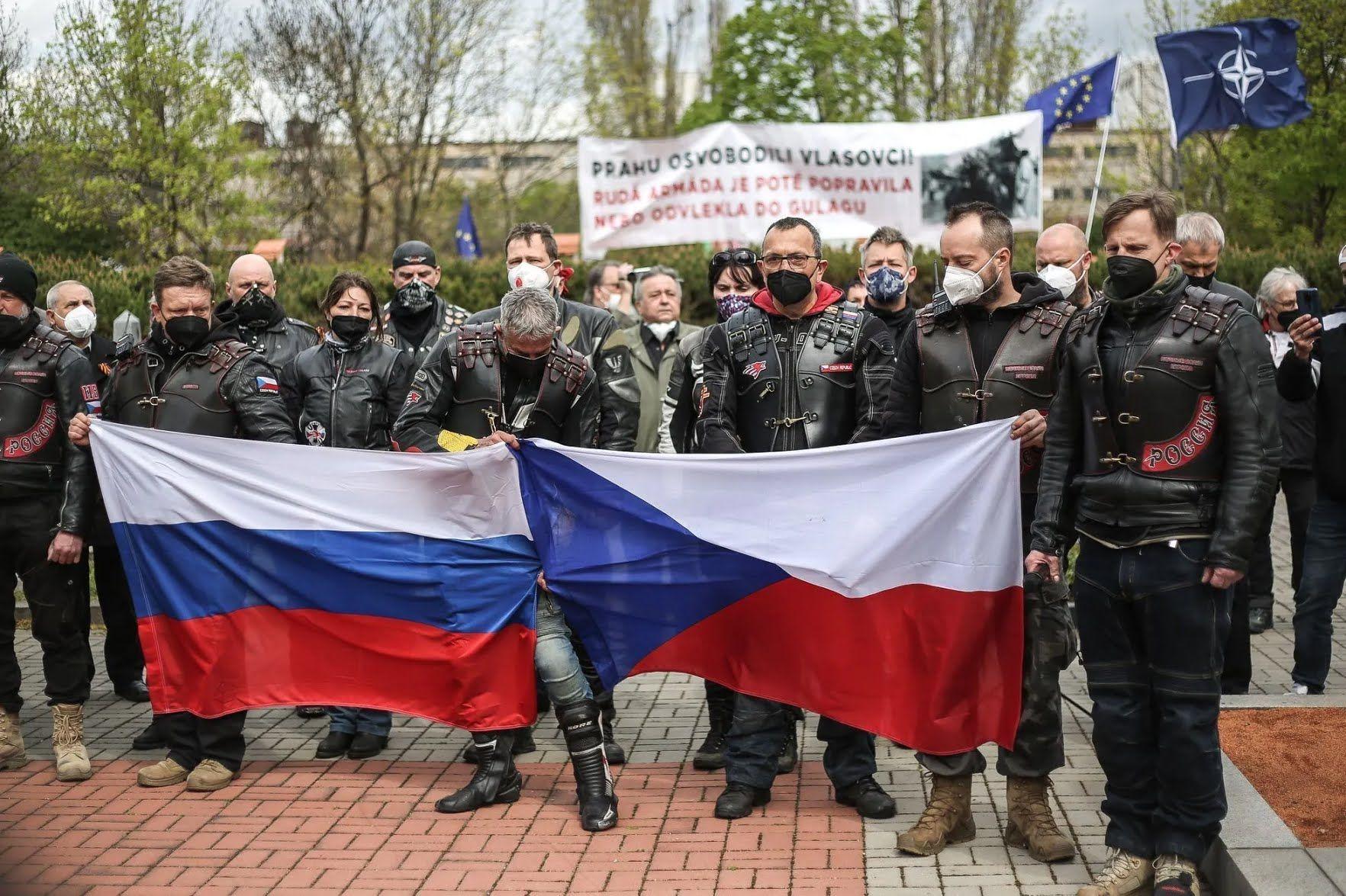 Росіяни приїхали до Чехії