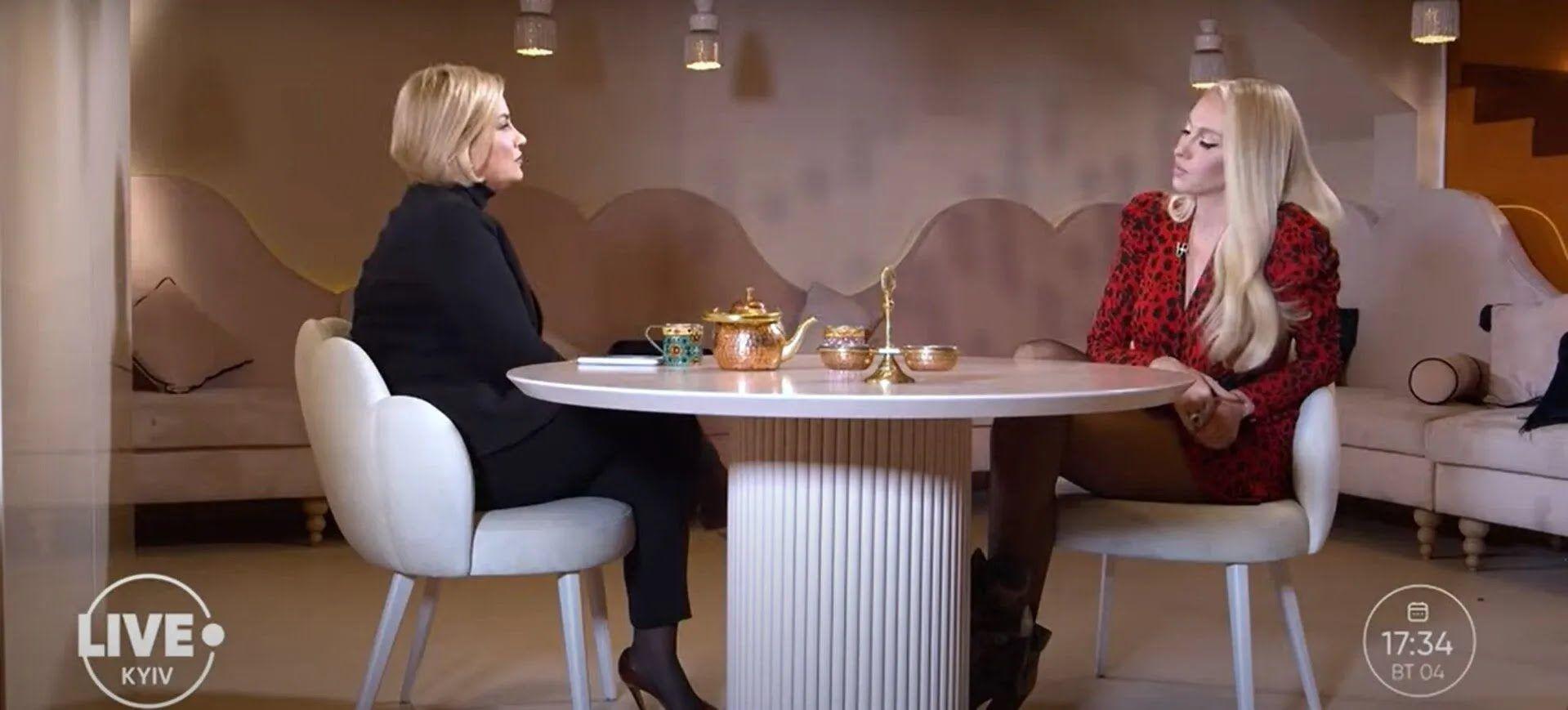Полякова дала интервью.