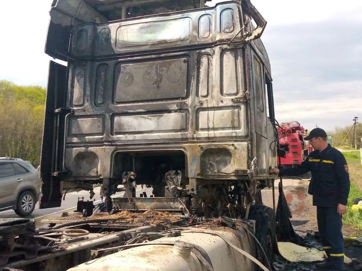 Рятувальники загасили вогонь.