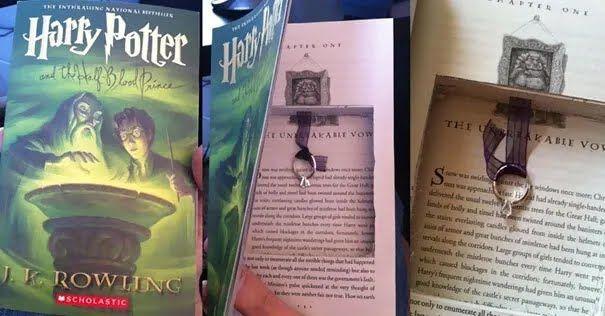 Влюбленные являются настоящими фанатами Гарри Поттера.