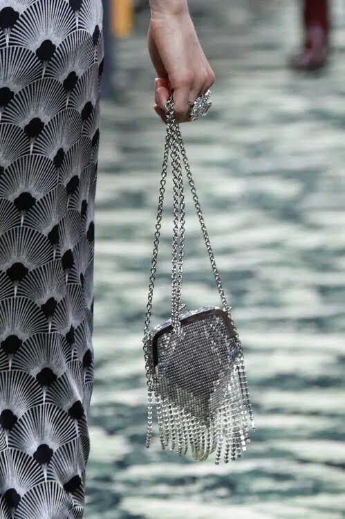 Модна мінісумка з бахромою