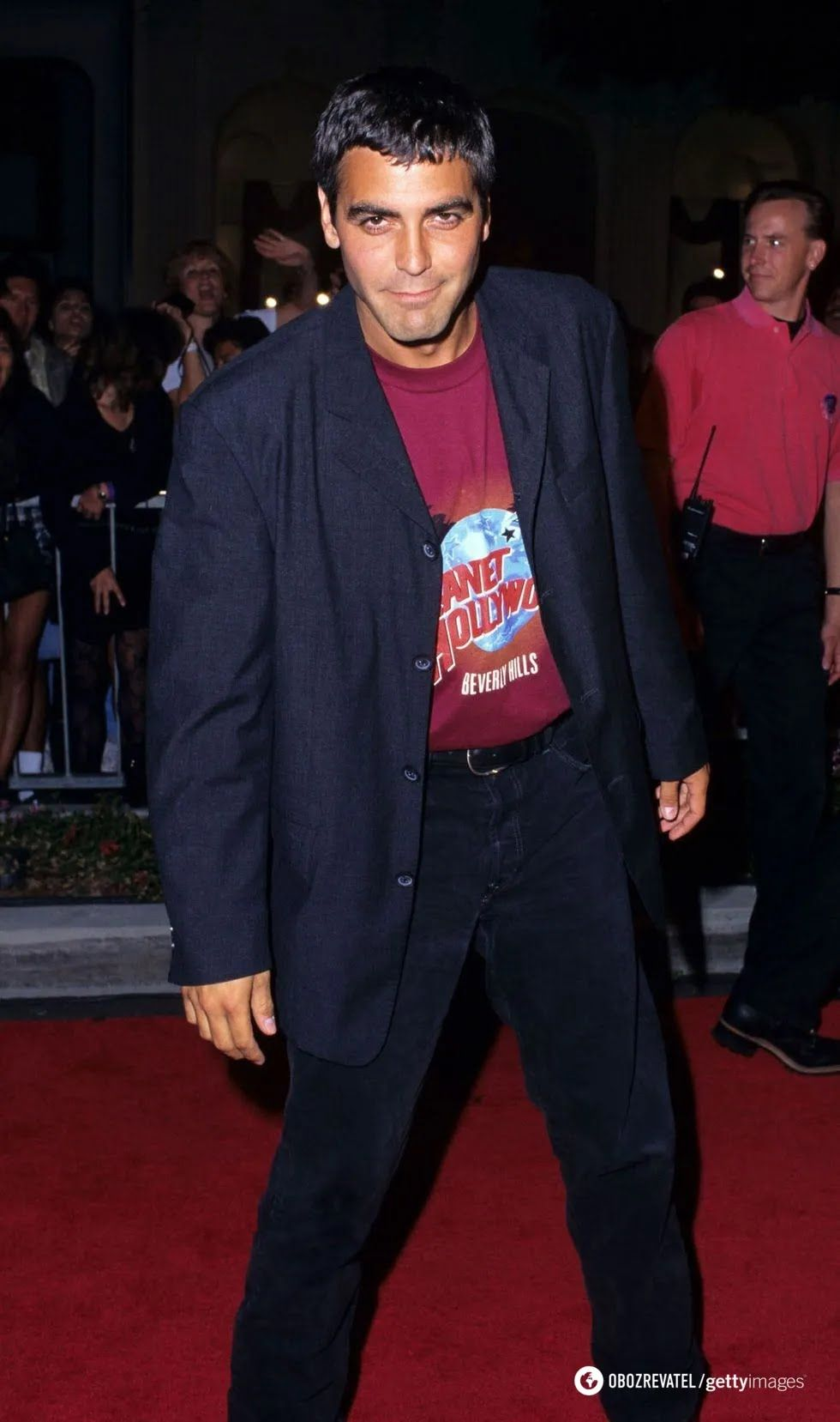 Джордж Клуні в молодості