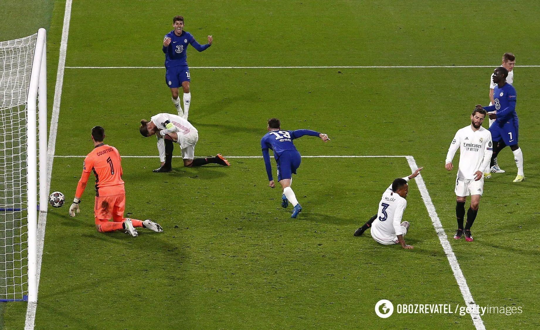 """""""Челсі"""" обіграв """"Реал"""", і в третій раз зіграє в фіналі ЛЧ."""