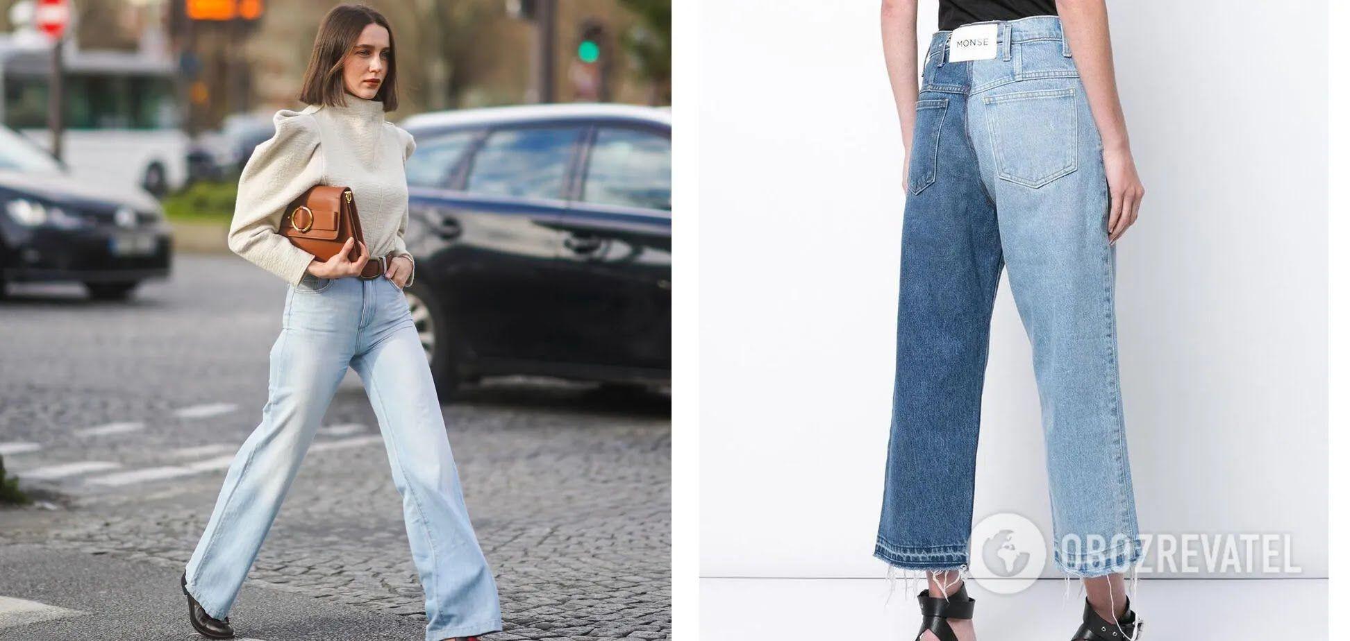 Широкі джинси – must have влітку 2021 року