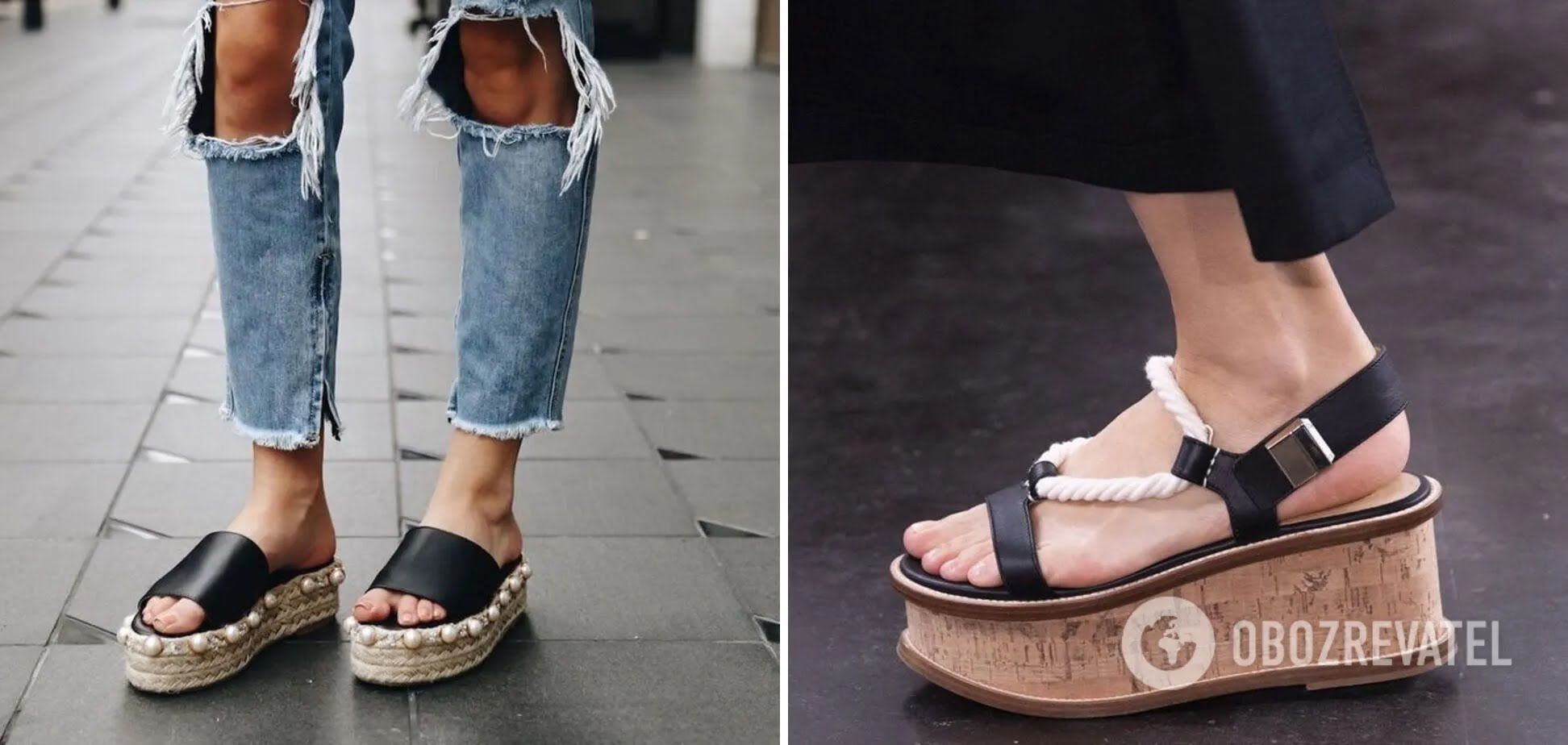 Взуття з грубою підошвою з декором стало трендом у 2021