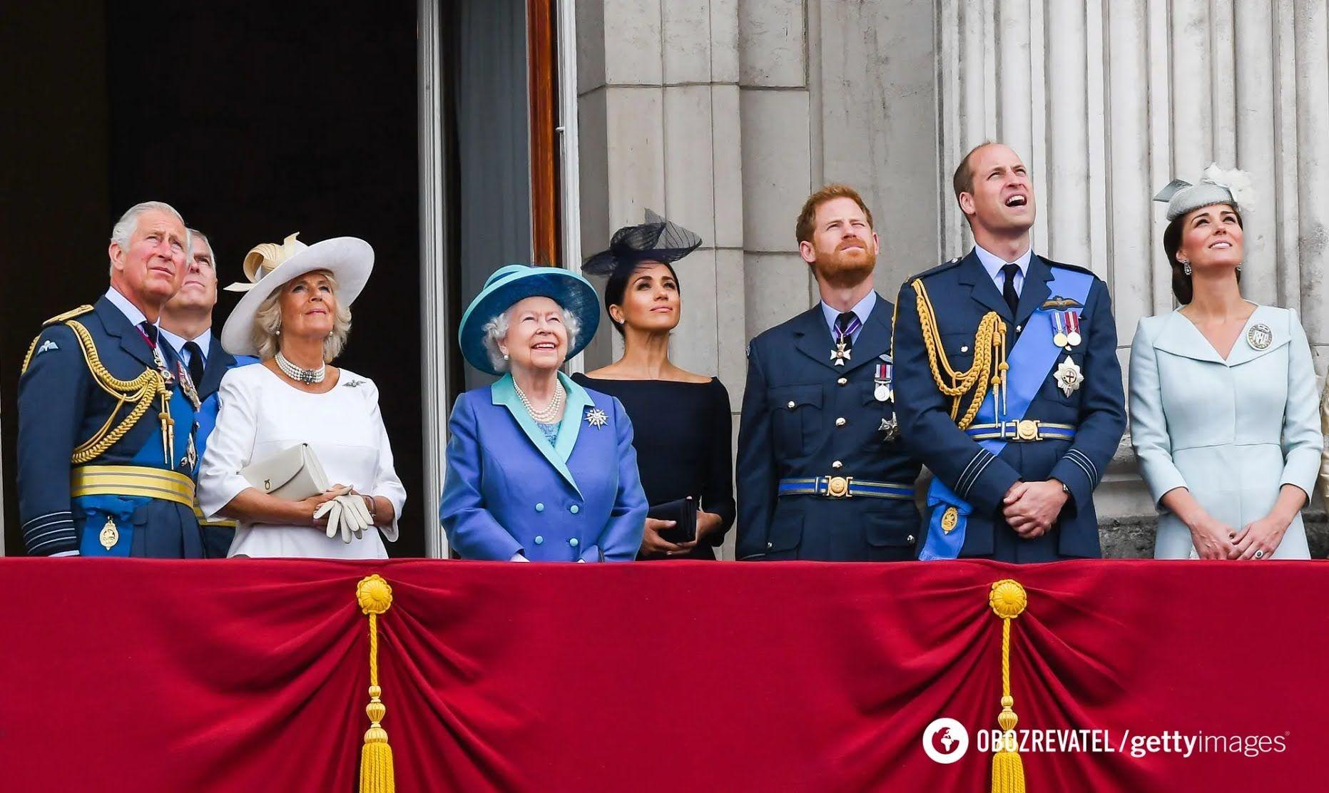 Члени британської королівської сім'ї
