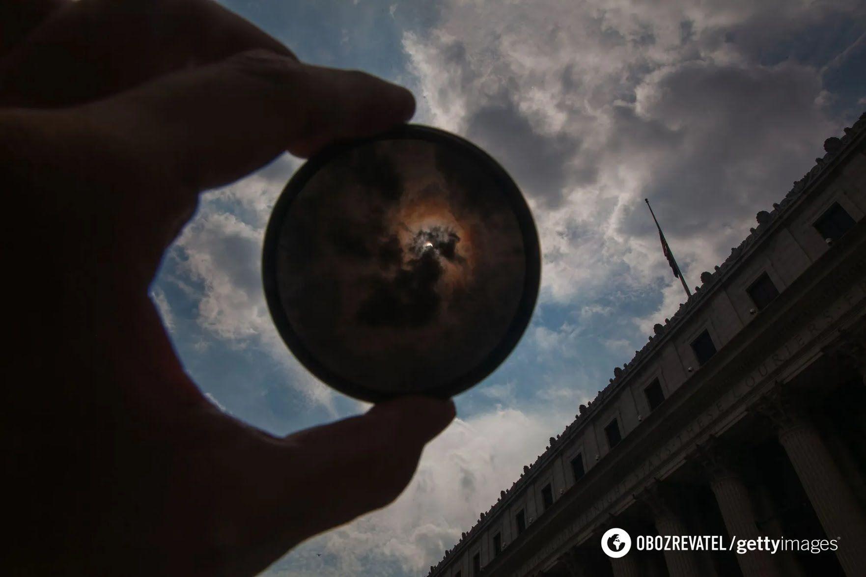 Під час затемнення 10 червня Сонце буде закрито тільки на 12%.