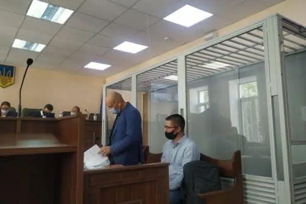 Сергій Глівінський у суді