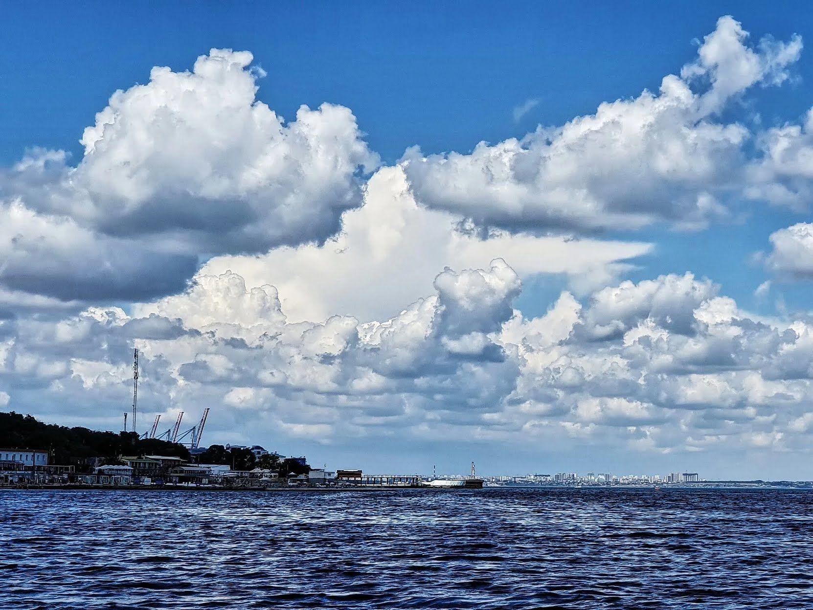 В Одесі холодне море.
