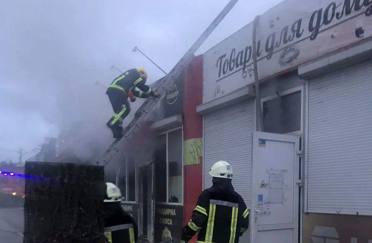 Причины пожара установят эксперты.