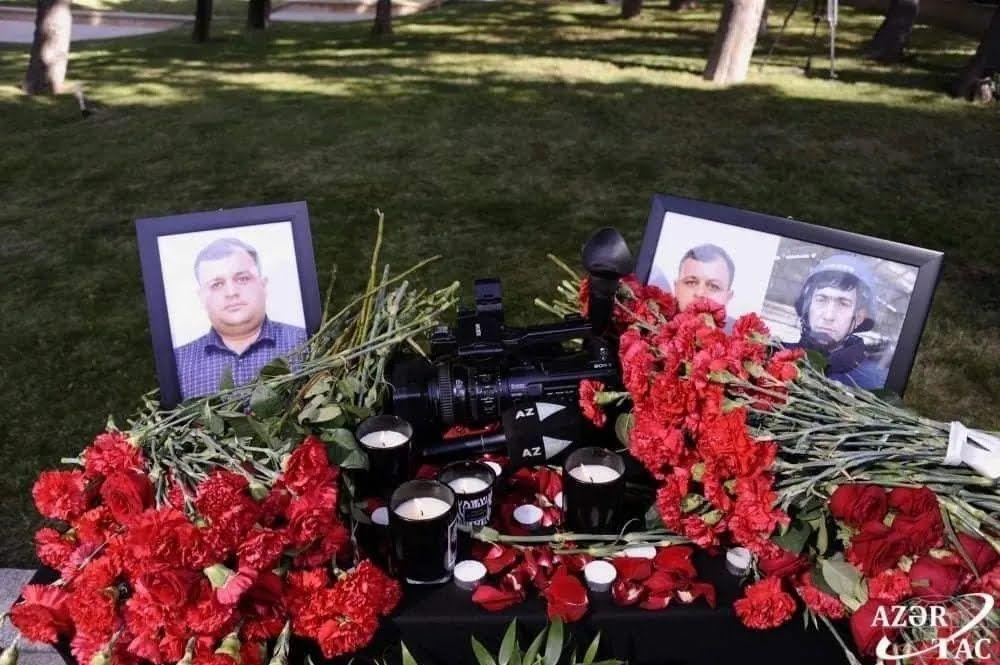 Журналисты Магеррам Ибрагимов и Сирадж Абышев подорвались на мине.