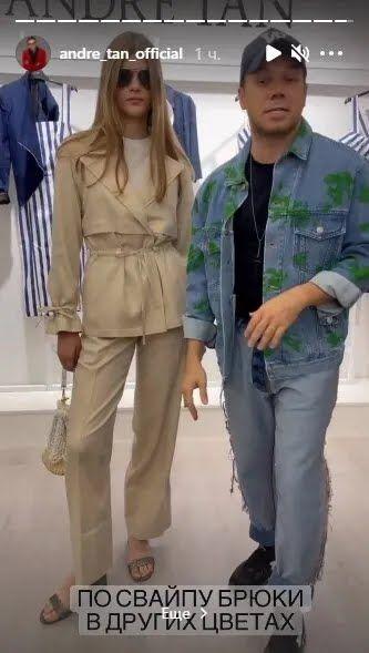 Андре Тан показав стильний костюм