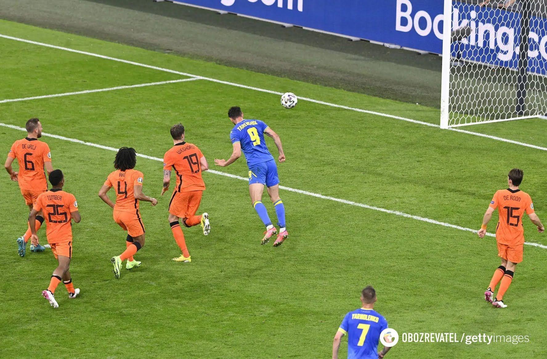 Яремчук забив другий гол українців.