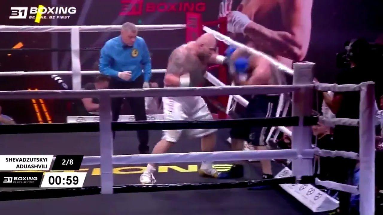Ігор Шевадзуцкій потужно працював в рингу