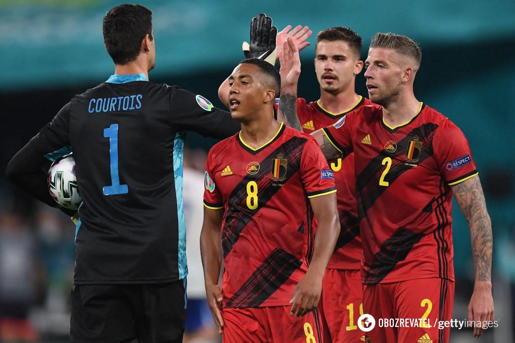 Бельгія не залишила шансів Росії