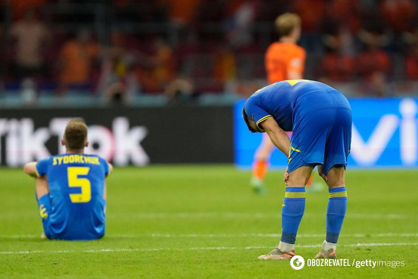 Українці прикро програли Нідерландам