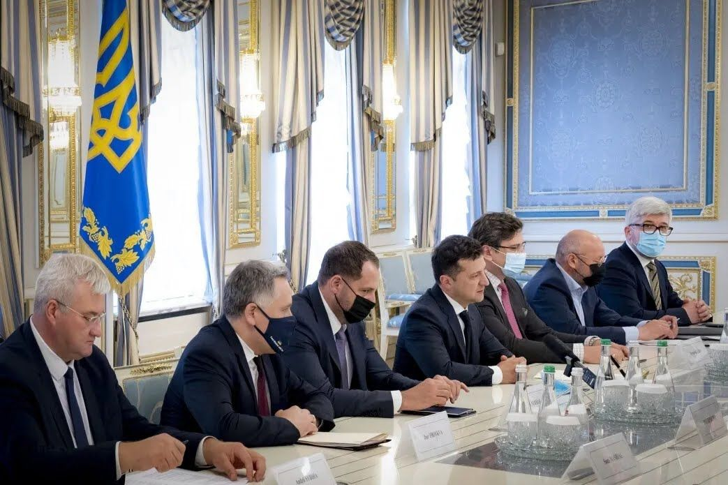 В Офисе президента встретились с председателем ОБСЕ