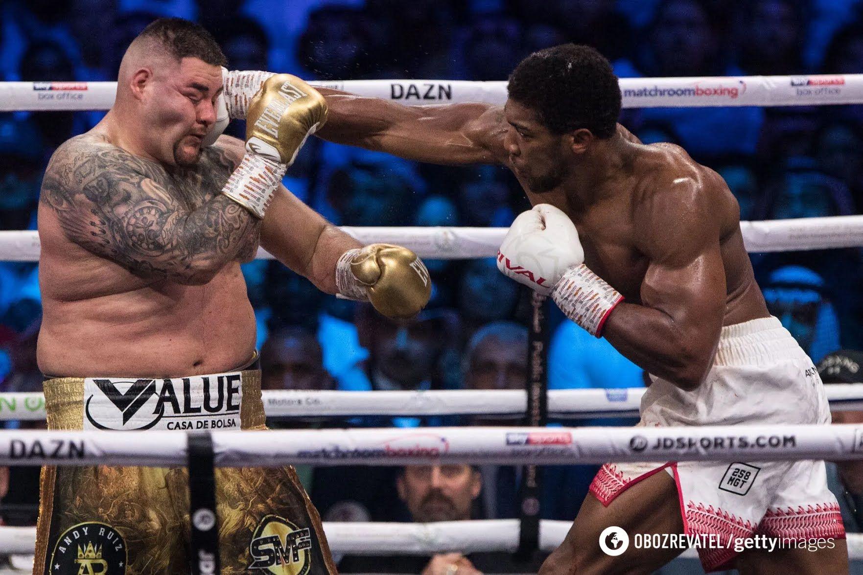Джошуа в бою з Руїсом.
