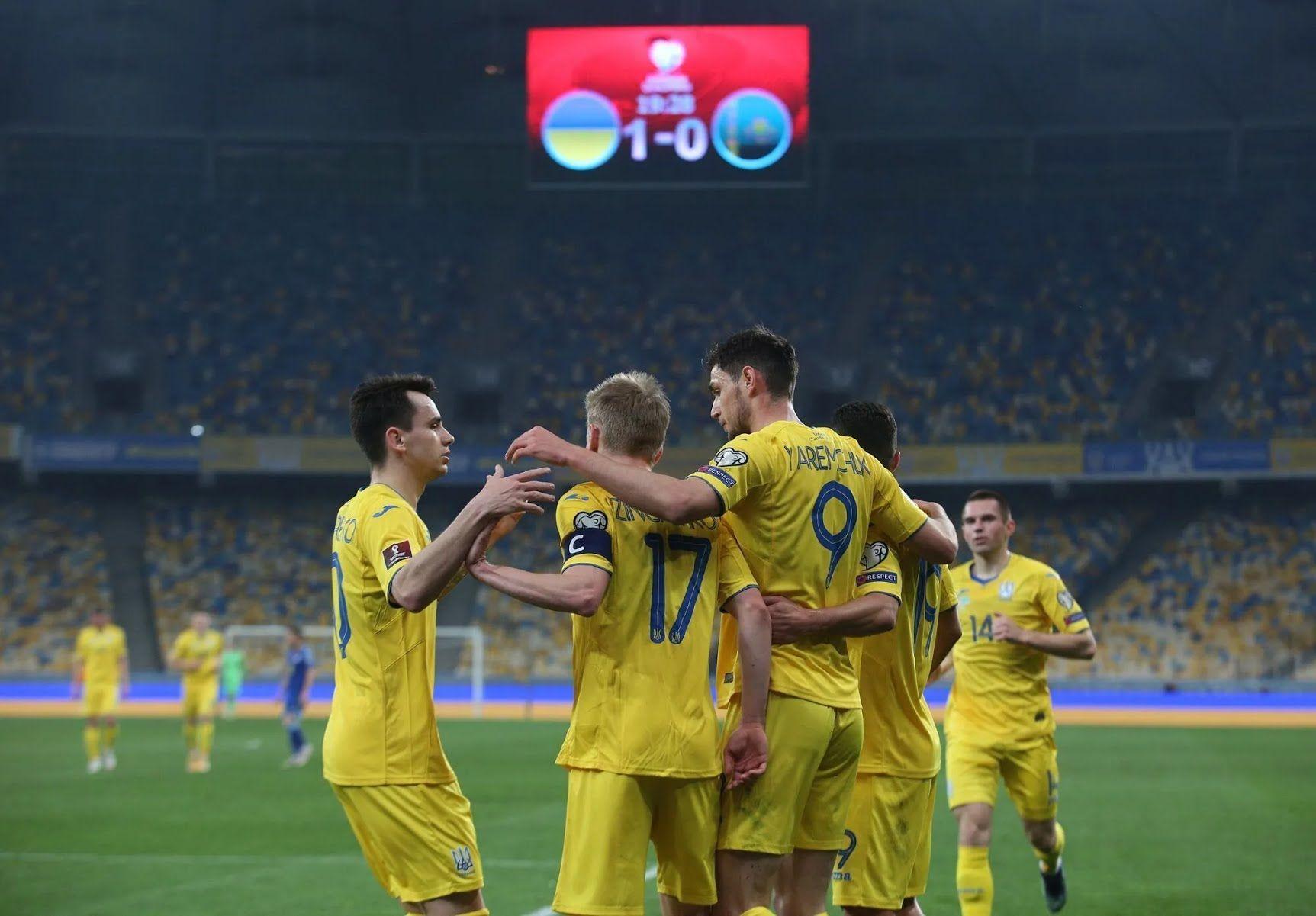 Сборная Украины по футболу сыграет в группе С Евро-2020.