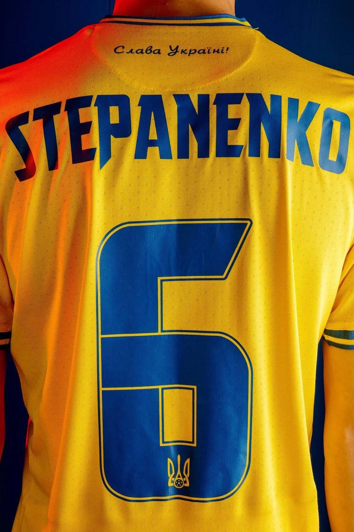 Тарас Степаненко в формі збірної України.