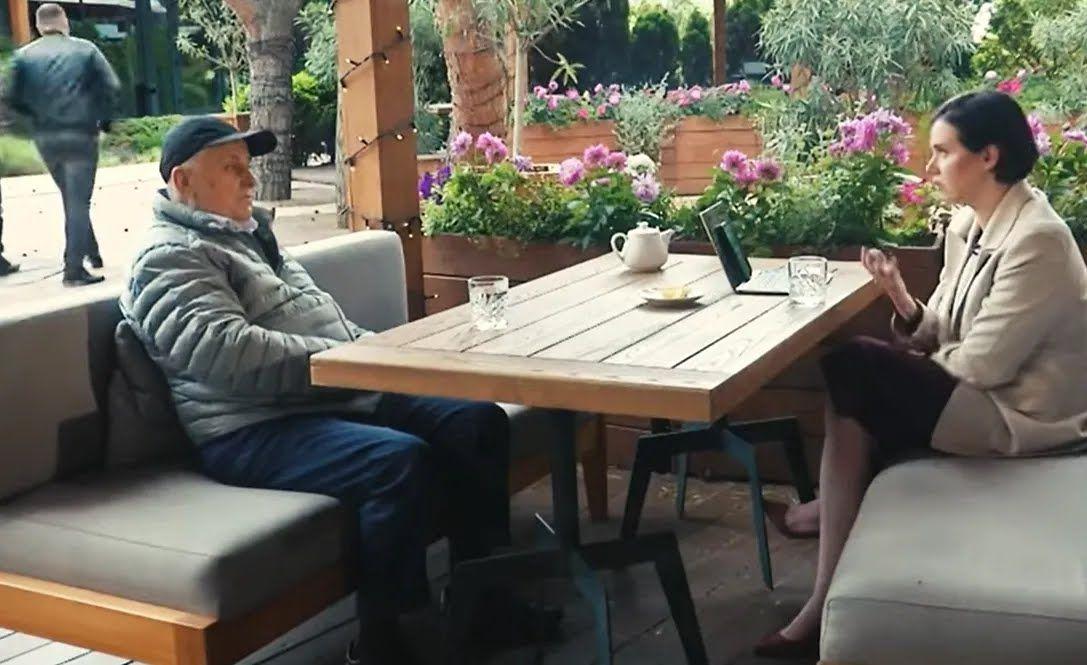 Интервью Кравчука с Яниной Соколовой.
