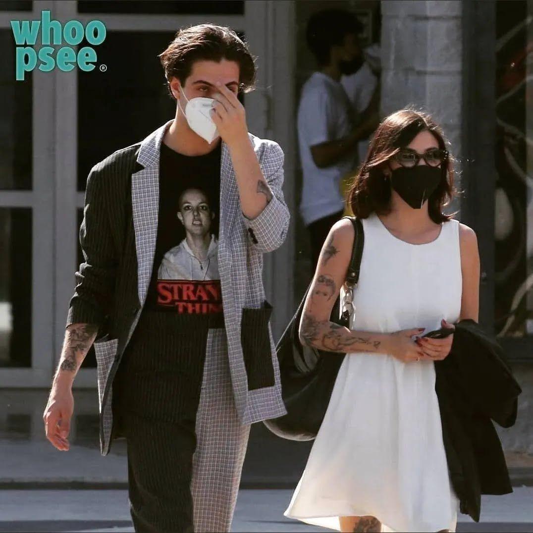 Давид Дамиано и его девушка Джорджия Солери