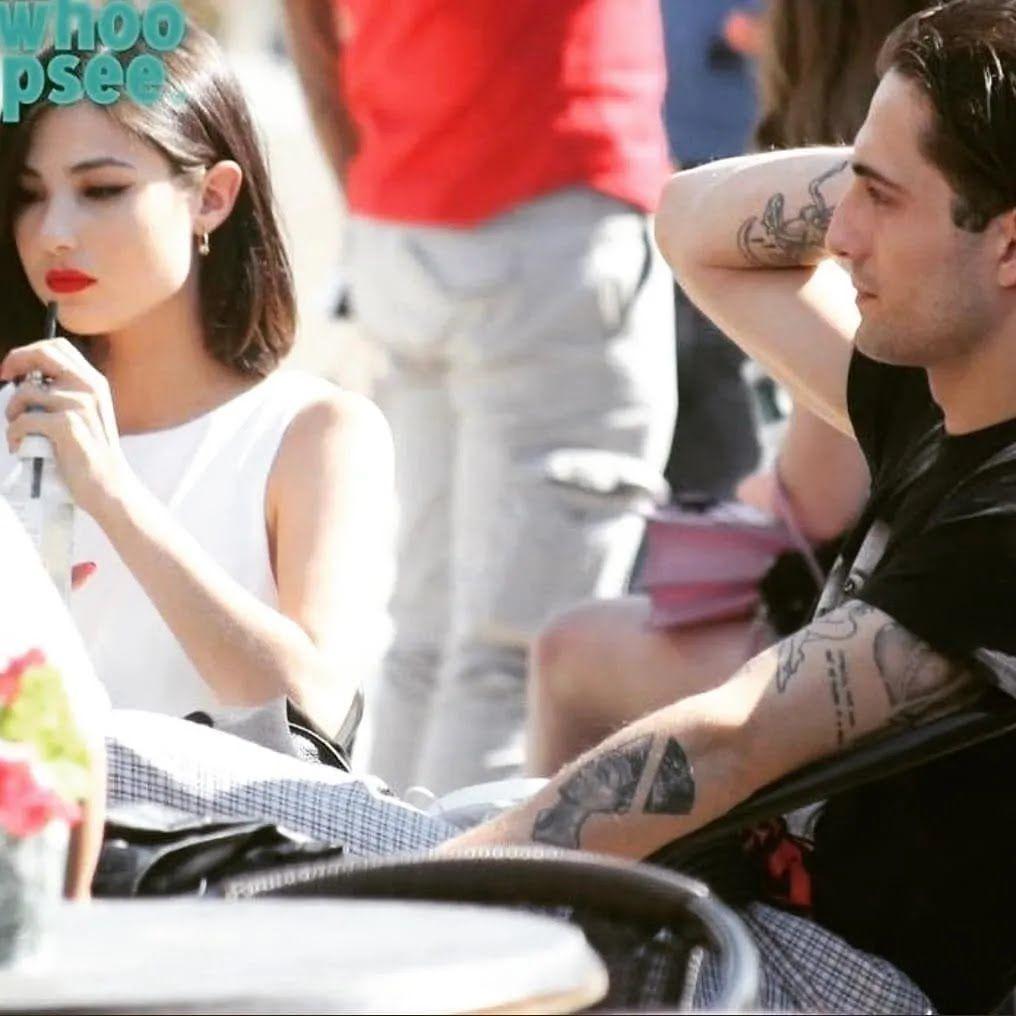 Давид Дамиано отдыхает со своей девушкой Джорджией Солери в Риме