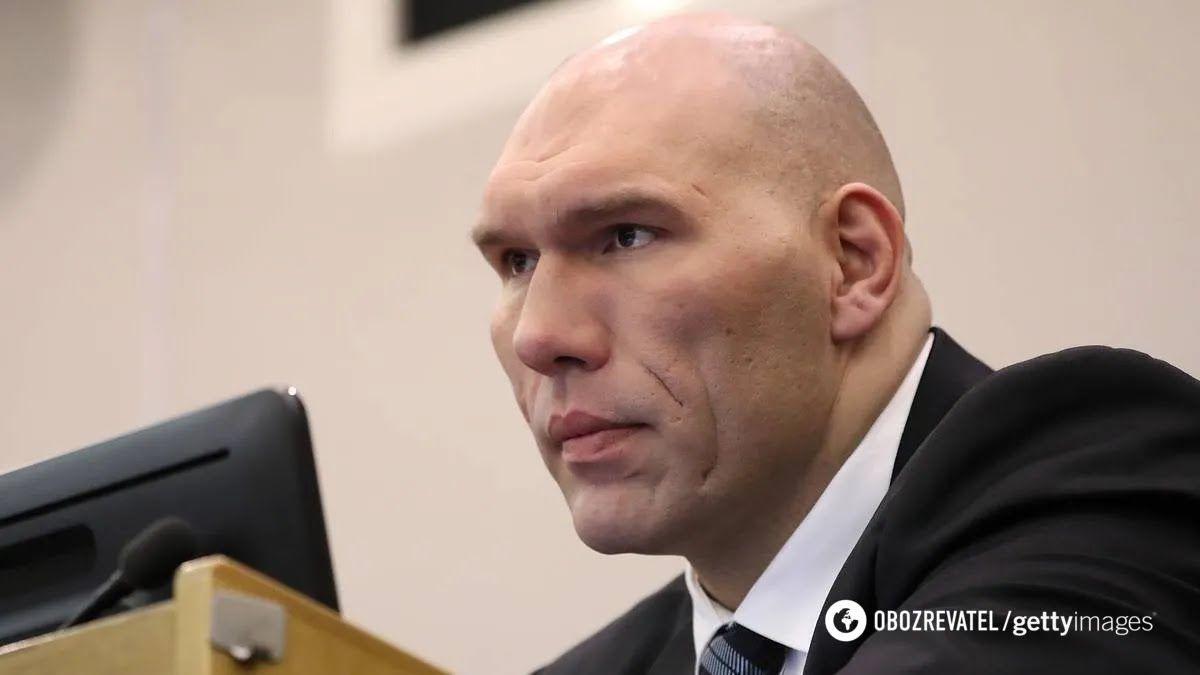 Микола Валуєв обурився наявністю Криму на формі збірної України