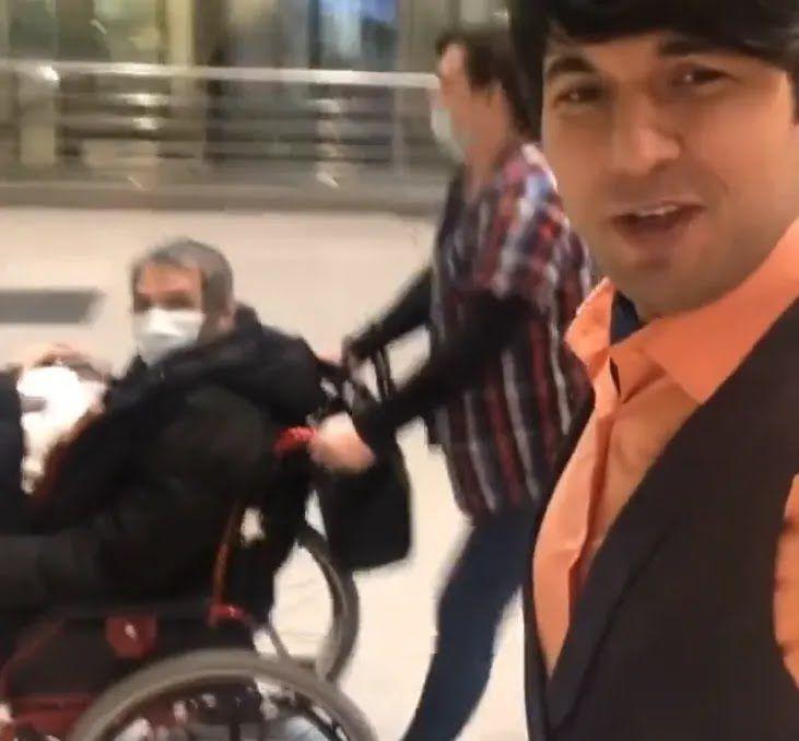 Бари Алибасов-младший помогает отцу