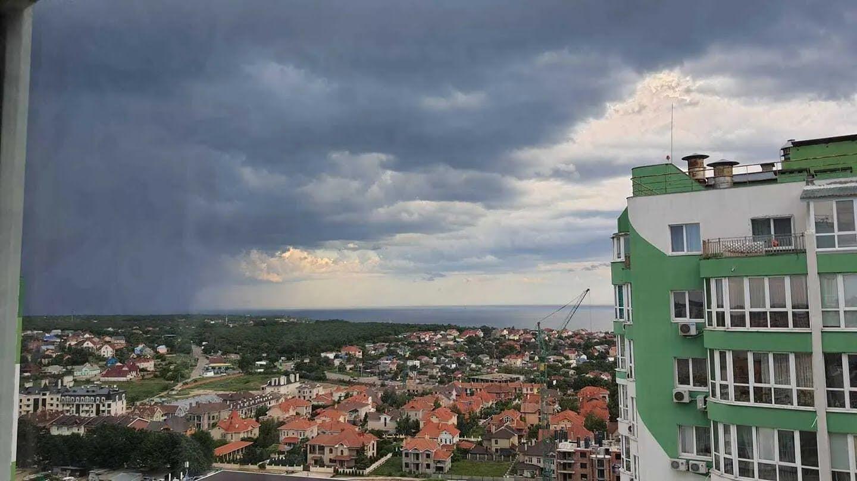 Гроза в Одесі 8 червня .