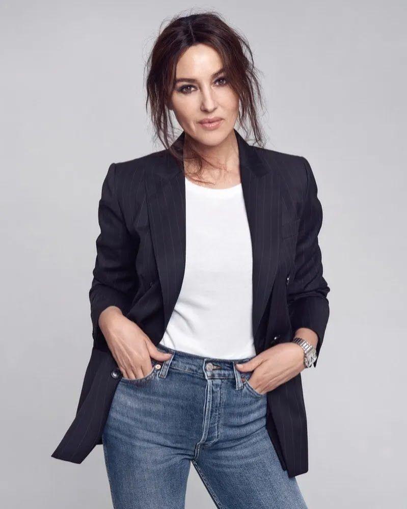 Моника Беллуччи в 2021 году