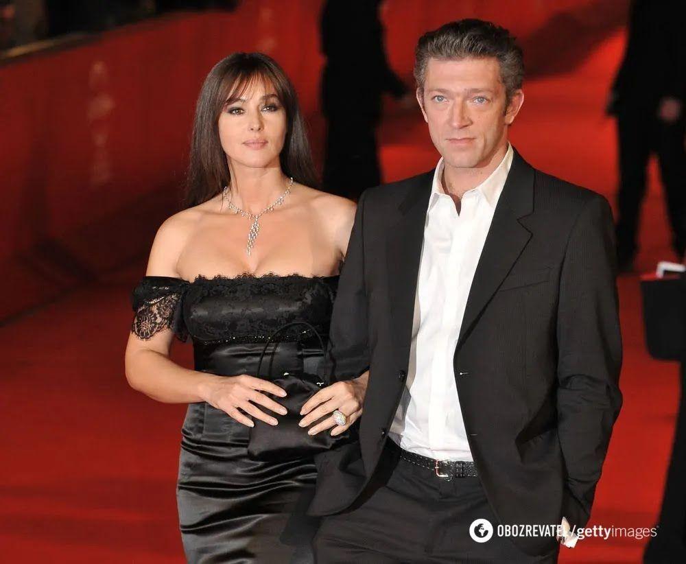 Брак Моники Беллуччи и Венсана Касселя распался в 2013 году