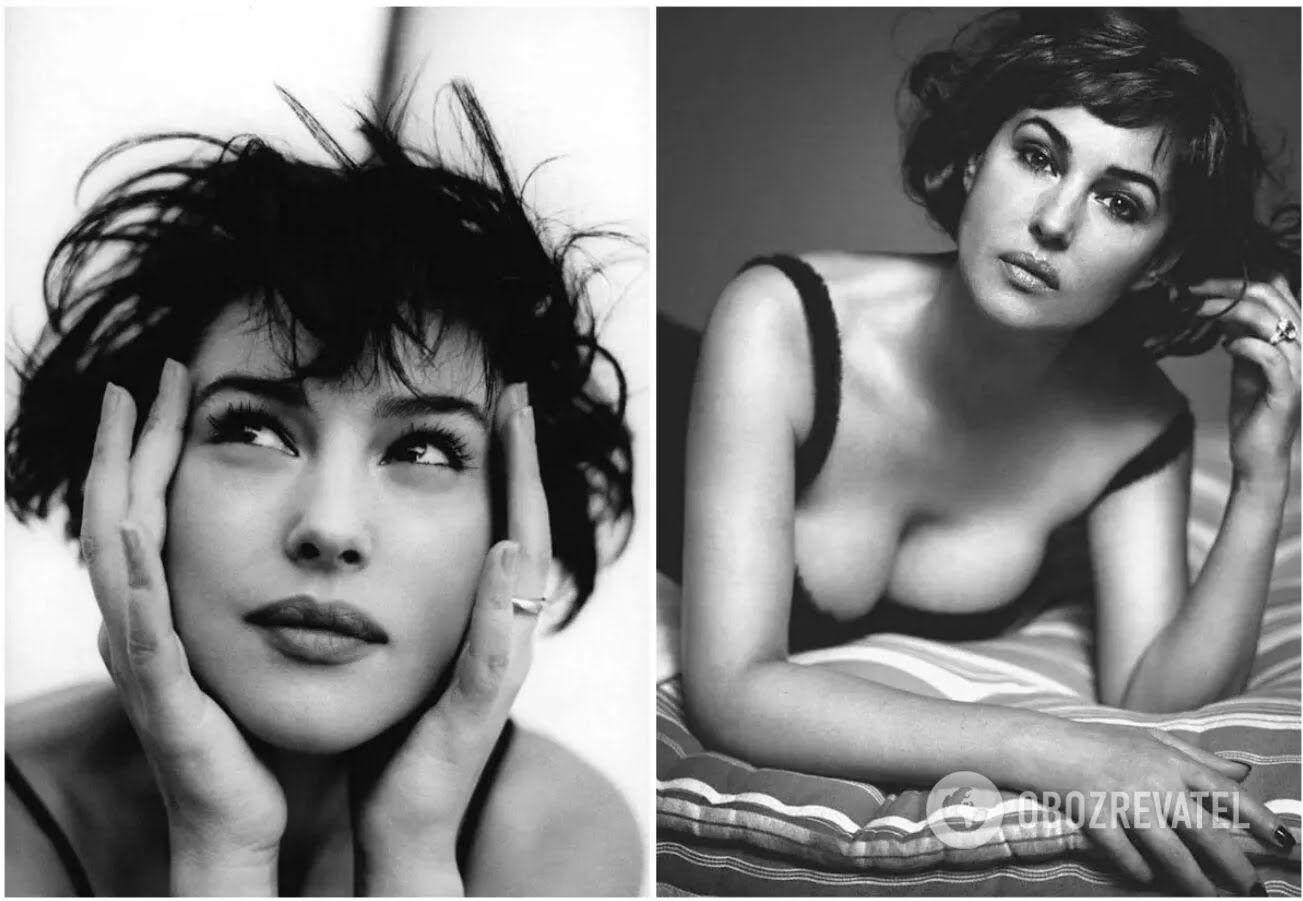 В 24 года Моника Беллуччи уже стала успешной моделью