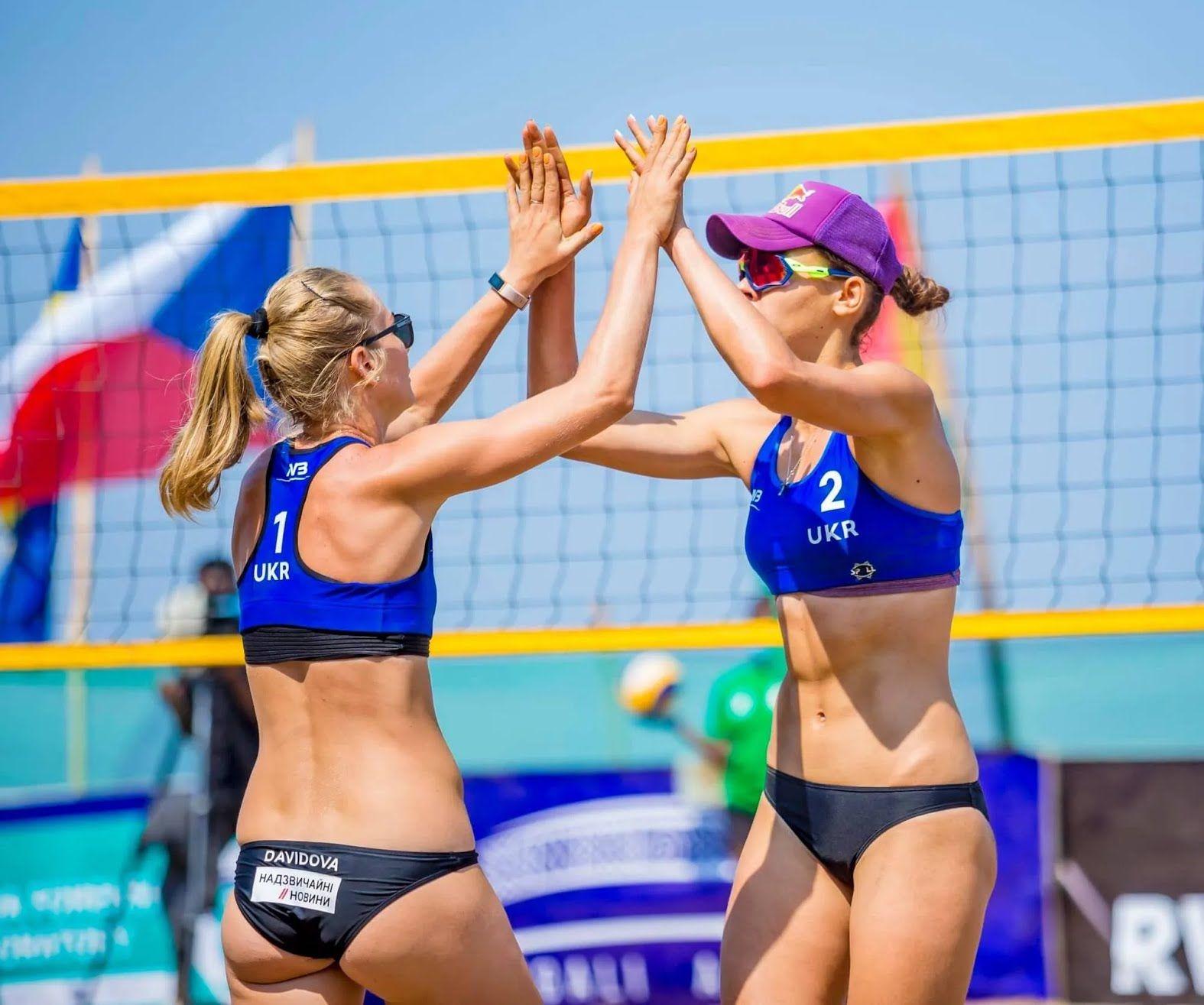 "Украина борется за медали ""FIVB Beach Volleyball World Tour Rubavu""."