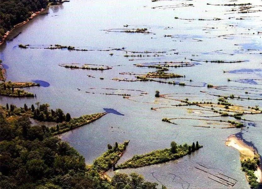 Кладбище кораблей в заливе Маллоус.