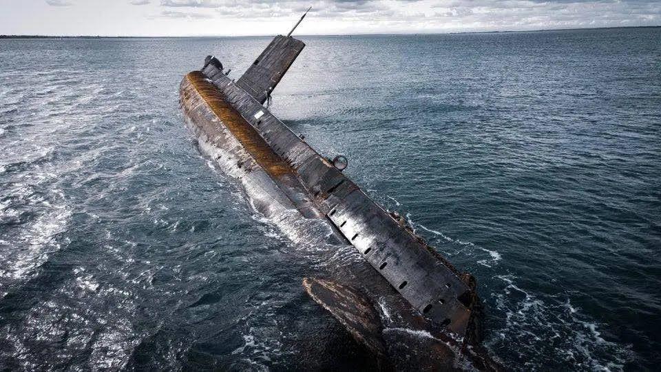 Возле Австралии нашли подводную лодку.