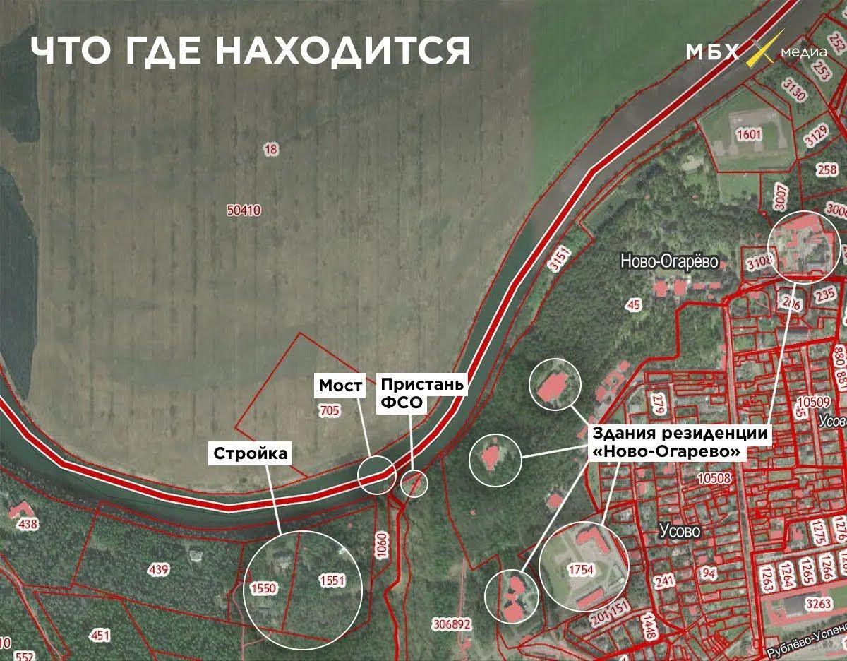Карта с объектами