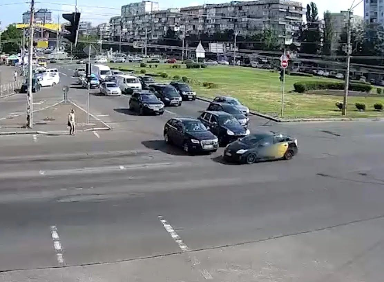 Авария произошла в Оболонском районе.