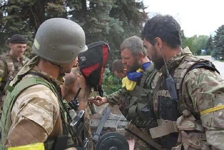 Воїни ВСУ в Торецькому