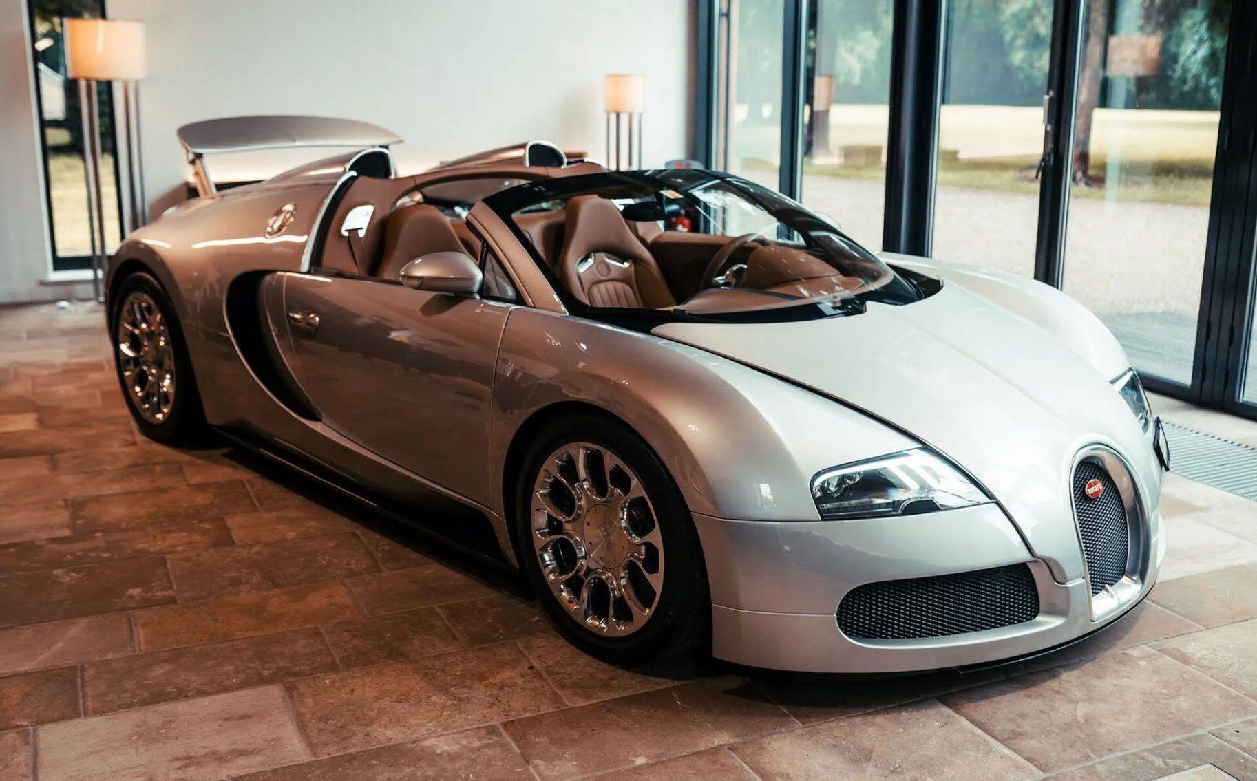 Першим проектом програми La Maison Pur Sang став унікальний прототип Veyron 16.4 Grand Sport
